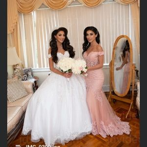 Maid of honor or bridesmaid dress, gala dress